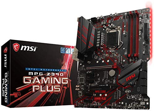 MSI MPG Z390 Gaming Plus **New Retail**, 7B51-001R (**New Retail** Motherboard - onboard Graphics (CPU Required))