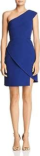 BCBG Max Azria Womens Aryanna One-Shoulder Mini Cocktail Dress