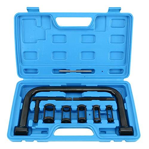 FreeTec Universal Ventilfederspanner Ventil Spring Kompressor Set Ventilschaftdichtung wechseln Montage Werkzeug