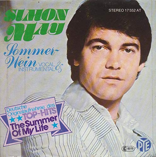 Simon May - Sommer-Wein - Pye Records - 17 552 AT
