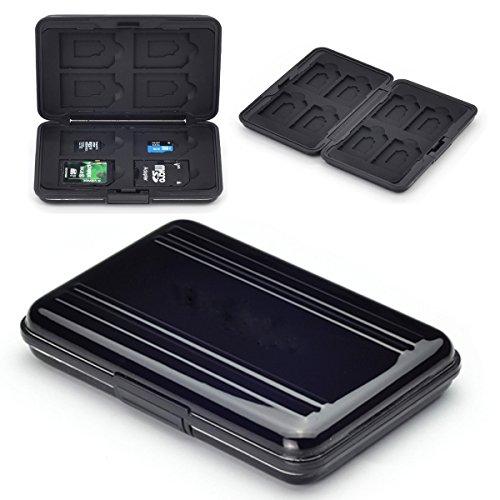 Flycoo - Funda para tarjetas de memoria (protección antigolpes, antipolvo, impermeable, antimagnética)