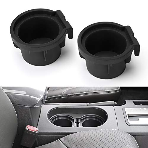 Joytutus Cup Holder Insert Compatible with Nissan Frontier 2005-2019 Pathfinder Cup Holder 2005-2012 Xterra Cup Holder Insert 2005-2015 96975-EA000 96975-ZS00A