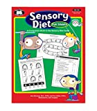 Super Duper Publications Sensory Diet Fun Activity Sheets: A Companion Book to the Sensory Diet Cards - Educational Resource for Children