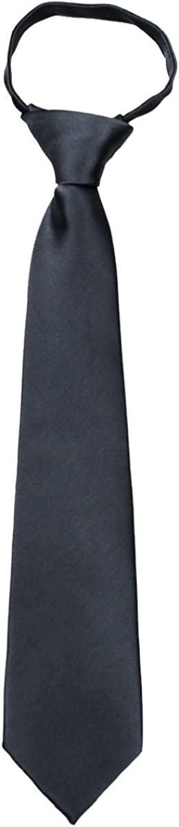 Mens XL Max 2021 new 58% OFF Solid Color Zipper Long Ties Extra Form for Necktie