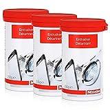 Miele Anticalcare per lavatrice e lavastoviglie, 250 g (confezione da 3)