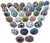 Hopofly - Pomos de cerámica para armario y cajones de la cocina, de estilo vintage