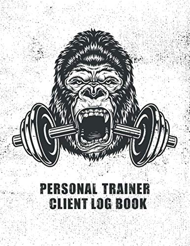 Personal Trainer Client Log Book: Client Data Organizer for Personal Trainers to Keep Track of Customer Information | Client Record Profile and Appointment Log Book | Personal Trainer Gifts