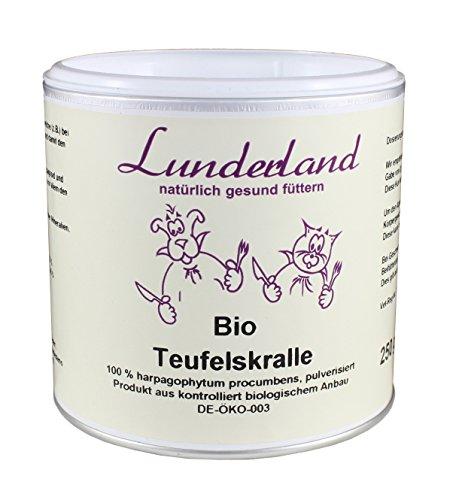 Lunderland - Bio Teufelskralle, 250 g, 1er Pack (1 x 250 g)