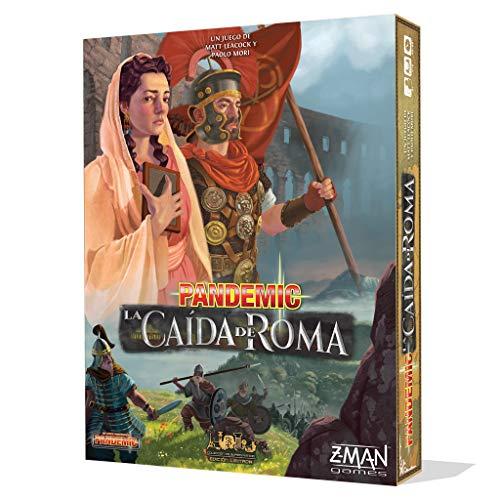 Z-man Games España- Pandemic: La Caída De Roma - Español, Multicolor (ZM7124ES)