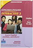 Longman English Interactive 3, Online Version, American English (Access Code Card)