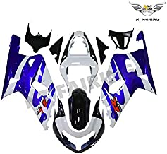 NT FAIRING White Blue Injection Mold Fairing kits Fit for Suzuki 2001 2002 2003 GSXR 600 750 K1 01 02 03 GSX-R600 Aftermarket Painted ABS Plastic Motorcycle Bodywork …