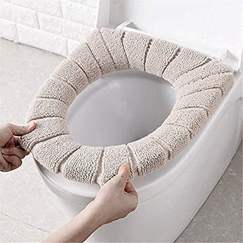 Uteruik - Coprisedile per WC invernale, comodo, morbido, caldo, lavabile, per bambini, accessori per il bagno