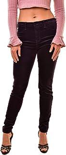 J Brand Velvet 815T635 - Pantalones vaqueros superajustados, color morado