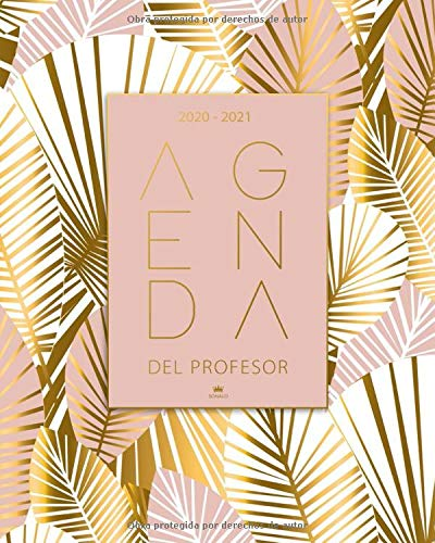 Agenda Del Profesor 2020 2021: Cuaderno del Profesor y Agenda 2020 - 2021 - Agendas Escolares para Profesores - Regalo para Profesora - Práctico Organizador para docentes