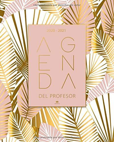 Agenda Del Profesor 2020 2021: Cuaderno del Profesor y...