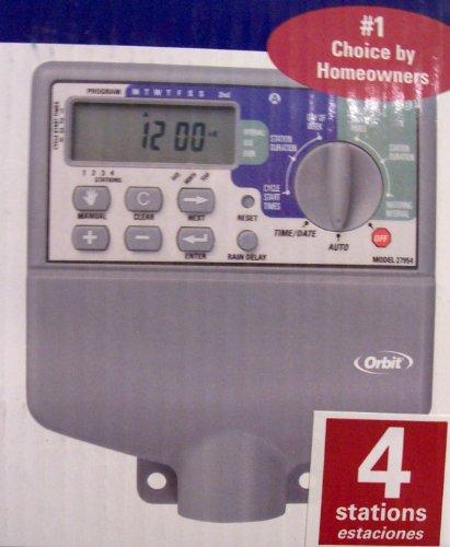 Orbit Dual Program Sprinkler Timer (Indoor) 4 Stations Model 27954