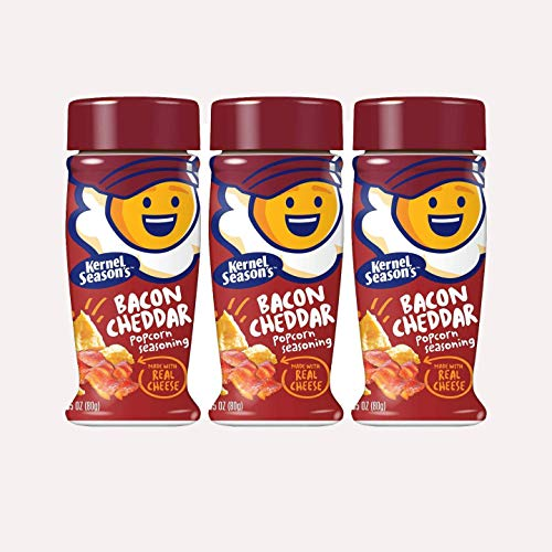 Kernel Season's Popcorn Seasoning, Bacon Cheddar 2.85 Ounce - Pack of 3