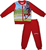 Miraculous Tales of Ladybug & Cat Noir Girls Children's Panel Long Sleeved Tracksuit Red 2-3 Years New 2017-2018