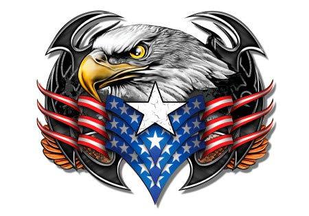 GT Graphics Eagle American Flag Patriotic - 3