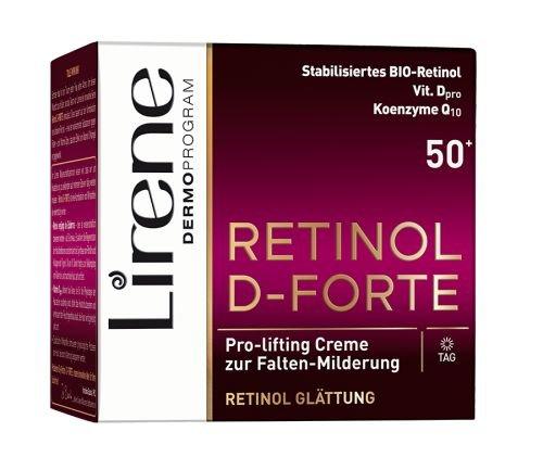RETINOL D-FORTE Pro-Lifting Creme zur Falten Milderung 50+ | Tagescreme