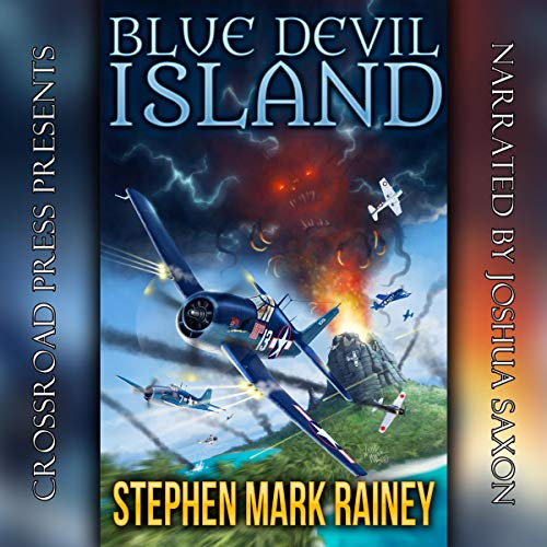 Blue Devil Island audiobook cover art