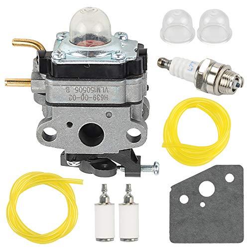 Panari 753-06258A Carburetor Carb for Ryobi 307160001 RY252CS RY253SS RY251PH RY254BC 2 Cycle 25cc Trimmer Craftsman Cultivator
