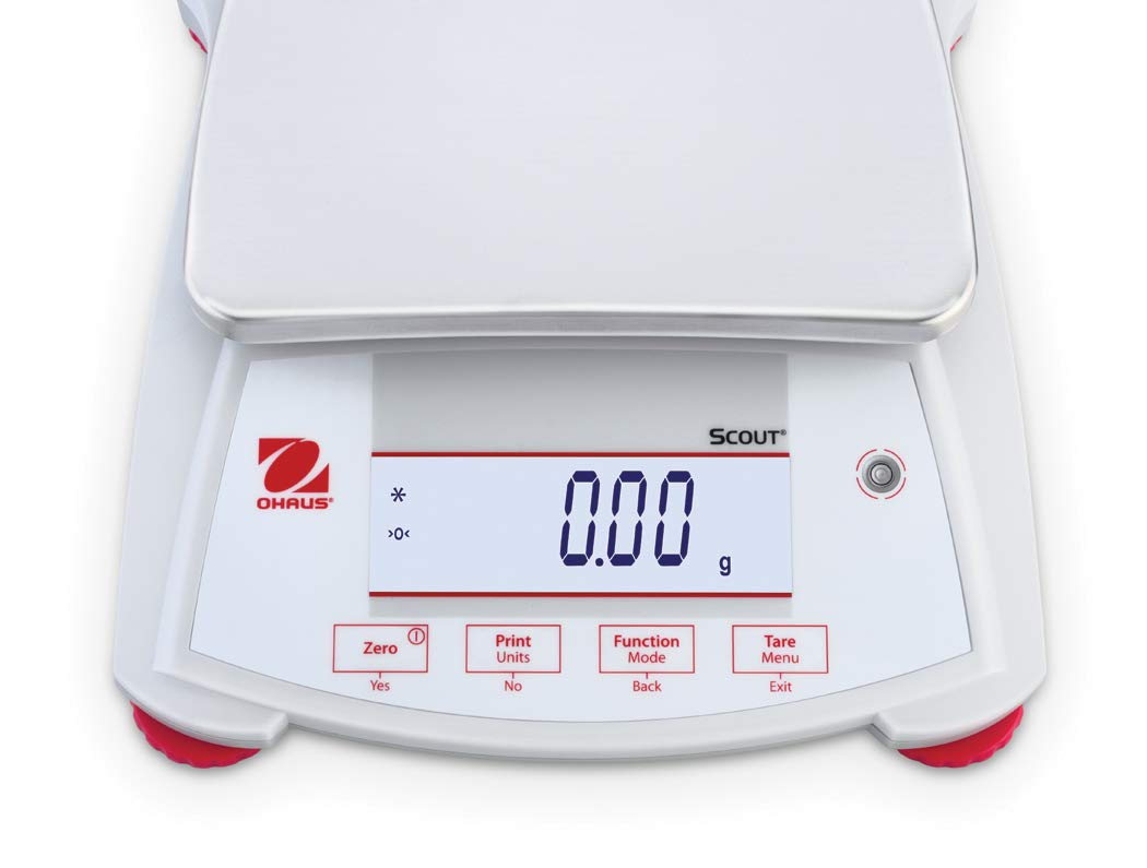 OHAUS 30253027 Model SPX6201 Scout Balance x Complete Free Shipping 6200 Max 76% OFF Capacity 0. g