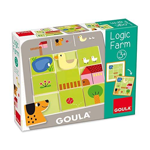 Goula- Logic Farm - Juego preescolar educativo a partir de 3 años