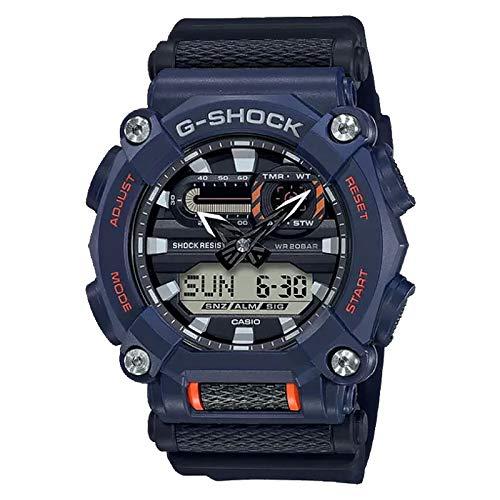 Casio G-Shock By Men's GA900-2A Analog-Digital Watch Black/Orange