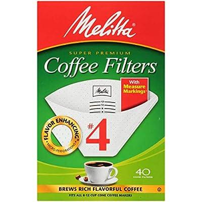 Melitta Cone Coffee Filters, No. 1