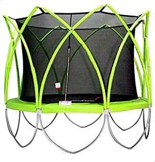 Round Trampoline with Safety Net Fence and Ladder, 304 cm