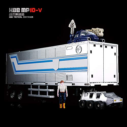 KBB Trailer Container for MP10V G1 Optimus Prime Figure Voyager Size