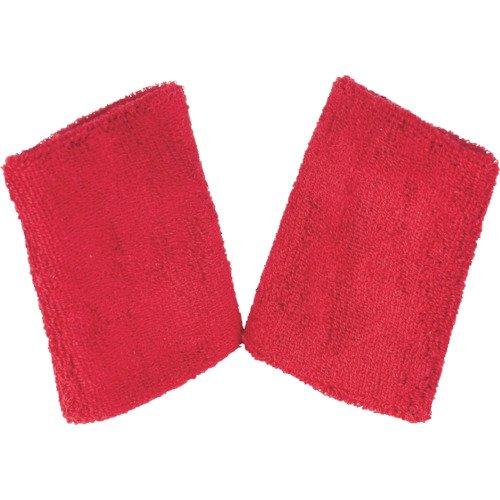 TRUSCO(トラスコ) ロングリストバンド 赤 2枚1組 TWB125-R