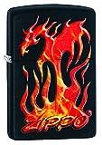 Zippo Flaming Dragon Design Pocket Lighter