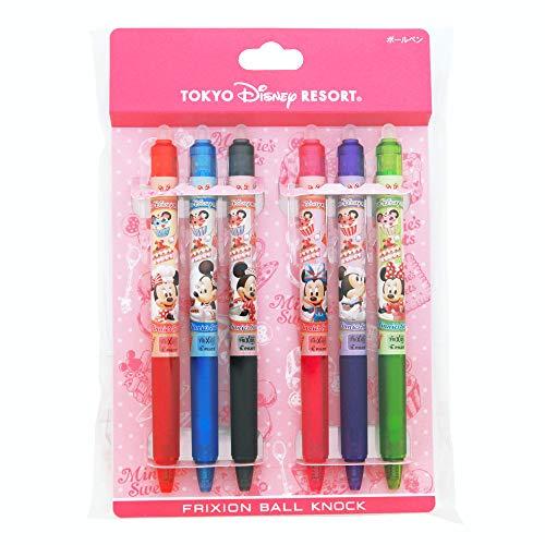 ミニー スウィーツ フリクション ボールペン 6本セット 東京 ディズニーリゾート限定 スウィート ステーショナリー ペン ミニーマウス