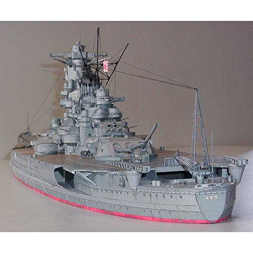 ELVVT 1: 250 acorazado japonés Yamato modelo de barco de