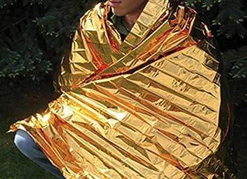 VISKEY Emergency Blanket Silver Small Size