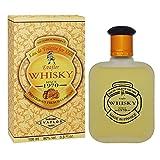 Evaflor Premium Cologne Whisky Double Eau de Toilette Spray For Men Fragrance, 100 ml (3.3 FL OZ), Made In France