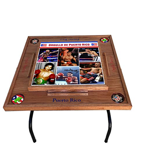 latinos r us Greatest Puerto Rican Boxers Domino Table