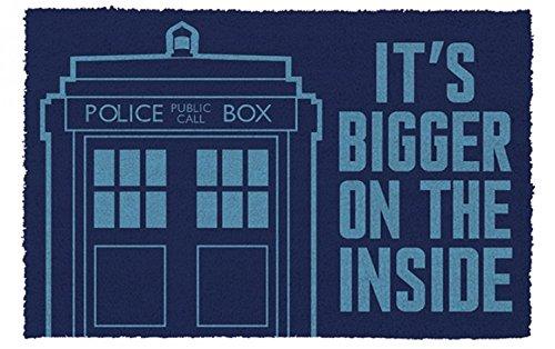 1art1 Doctor Who - Tardis Felpudo Alfombra (60 x 40cm)