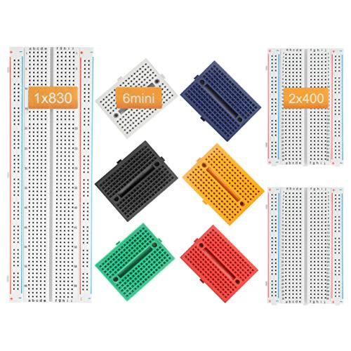 Deyue Breadboard Jumper Set für Elektronik-Experimente / Arduino und Raspberry Pi Projekte Multibreadboard