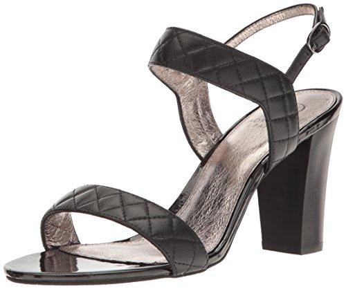 Adrianna Papell Women's Astor Dress Sandal, Black, 7 US/7 M US