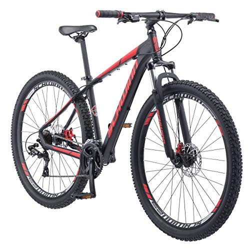 Schwinn Bonafide Mens Mountain Bike, Front Suspension, 24-Speed, 29-Inch Wheels, 17-Inch Aluminum...