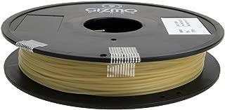 Gizmo Dorks 3mm (2.85mm) PVA Filament 0.5kg for 3D Printers, Natural