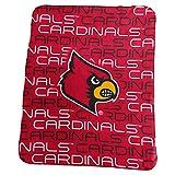 Logo Brands NCAA Louisville Cardinals Classic Fleece, One Size