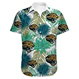 Camisa Hawaiana de la NFL, Camiseta de Manga Corta de los fanáticos de Jacksonville Jaguar, Camiseta Informal de Verano Impresa en 3D, Camiseta cómoda para Hombres y Mujeres