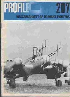Aircraft Profile No. 207: Messerschmitt Bf 110 Night Fighters