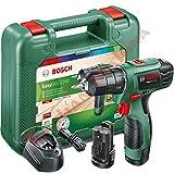 Bosch Home and Garden Bosch easydrill 1200Bohrmaschine einfach Elektrische Kabellos 12V/1,5A / 06039A210B, 12 V, Schwarz, Grün