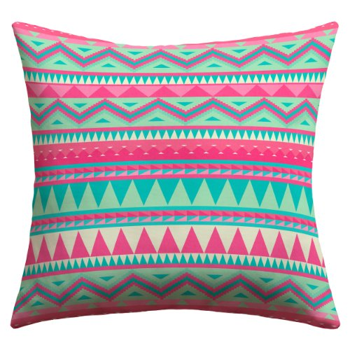 Why Choose Deny Designs Iveta Abolina Pink Navajo Outdoor Throw Pillow, 26 x 26