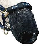 netproshop Fliegenschutz Nasennetz Nasenschutz Hilfe bei Headshaking Schwarz Pony oder Full,...